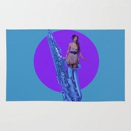 Amy's Sax Rug