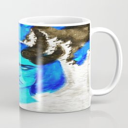 Devil With A Blue Face On Coffee Mug