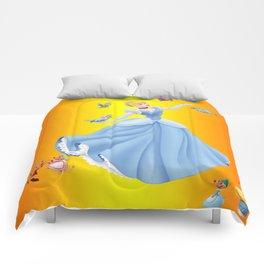 beautiful princess Comforters