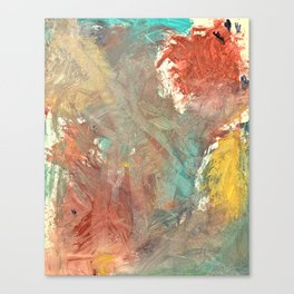 A Voice Cries Out Canvas Print