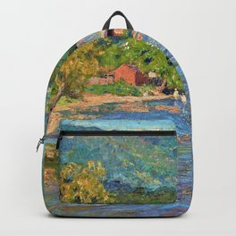 Landscape 1899 - Theodore Clement Steele Backpack