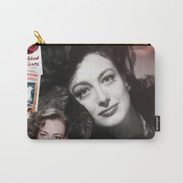 Joan Crawford Collage Portrait Carry-All Pouch