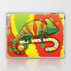 Christmas Chameleon Laptop & iPad Skin