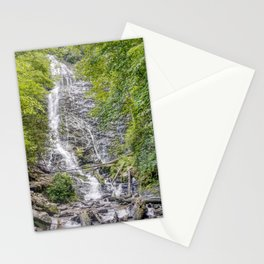Mingo Falls in the Blue Ridge Mountains Stationery Cards