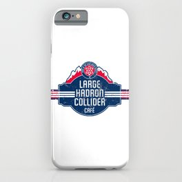LHC Cafe iPhone Case