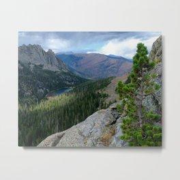 Rocky Mountain View: Odessa Lake Metal Print