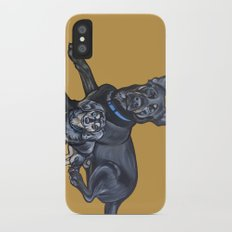 Lincoln and Zelda Slim Case iPhone X