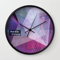 Media Circus Wall Clock