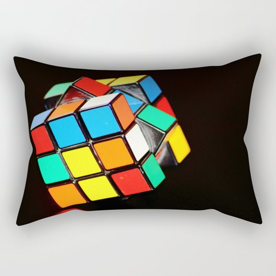 Cubic Cube Rectangular Pillow