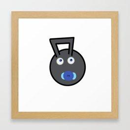 Kettlebaby Framed Art Print