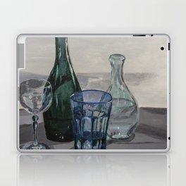 Bottles, glasses, still life with wine glass Laptop & iPad Skin