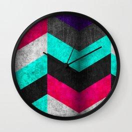 Geometric Mundo C Wall Clock