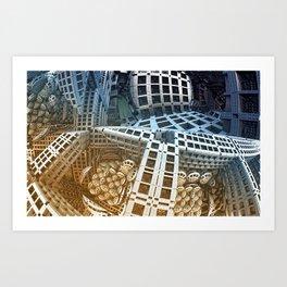 Mlaz Art Print