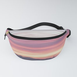 Sunset Layer Cake Fanny Pack