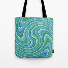 Twist and Shout-Oceania colorway Tote Bag