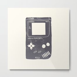 Game Boy Metal Print