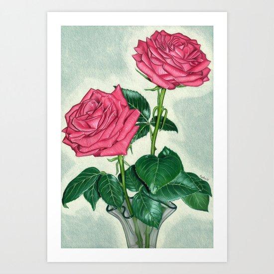 Roses by aureliaart