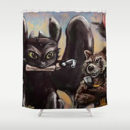 I'm Gonna Need That Guy's Leg! Shower Curtain