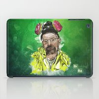 walter white iPad Cases featuring Walter White  by Madows