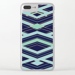 Art Deco Even Faster Clear iPhone Case