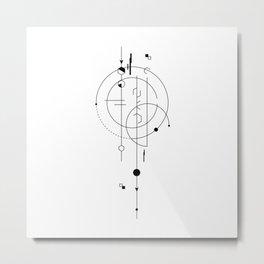 Celestial Lance Metal Print