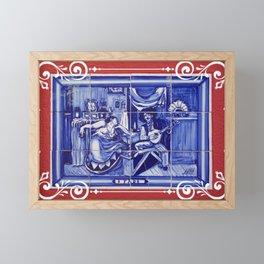 Fado folk music, Portugal Framed Mini Art Print