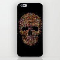 deadmau5 iPhone & iPod Skins featuring Acid Skull by Sitchko Igor