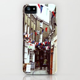 Flags in Greenwich Village iPhone Case