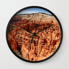 Bryce Canyon View At Sunset Point Wall Clock