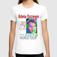 concert T-shirts featuring Adele Dazeem Concert Tee by Danadu
