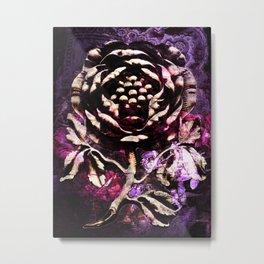 Stone Rose Metal Print