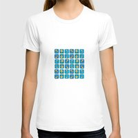 evil eye T-shirts featuring Evil Eye Squares by Katayoon Photography