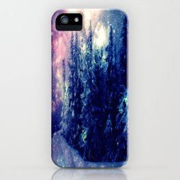 Galaxy Forest : Deep Pastels iPhone Case