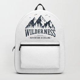Wilderness. Adventure Is Calling Backpack
