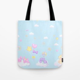 Bubbly Mice Sky Tote Bag