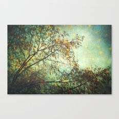 magic in the forest/ green Canvas Print