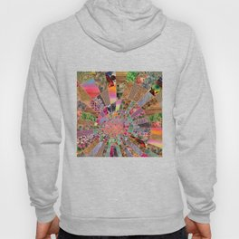 Shitty pink colored Clown Spiderweb Hoody