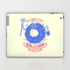 Mischievous donut Laptop & iPad Skin