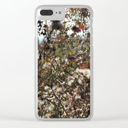 Blue Ridge Parkway Microcosm Clear iPhone Case