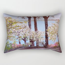 Savannah in Spring Rectangular Pillow