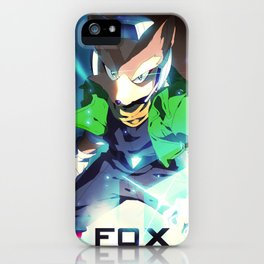 Melee | Fox - Green iPhone Case