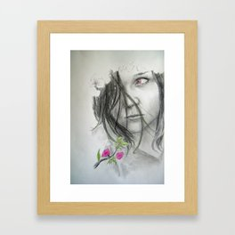 Spring is not Happy Framed Art Print