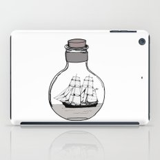 The ship in the bulb iPad Case