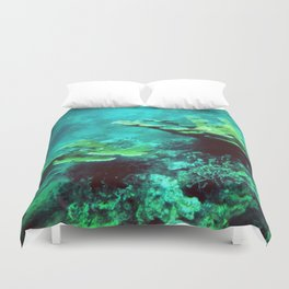 Under the Sea Coral Reef Caribbean Duvet Cover