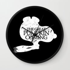 Game of Peanuts Wall Clock