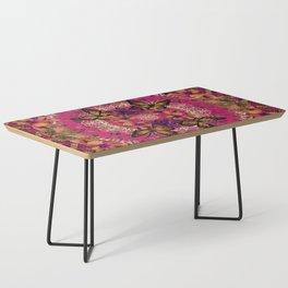 Victoria Mandala Collage Coffee Table