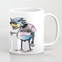 sonic Mugs featuring sonic youth by Marcelo O. Maffei