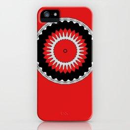Kris Alan Apparel crest 10 iPhone Case