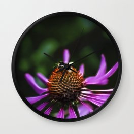 Electric Bee Wall Clock