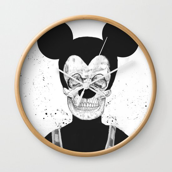 Dead mouse Wall Clock